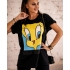 BLUZKA T-SHIRT TWEETY BLACK