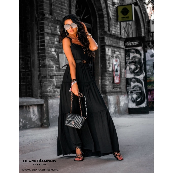 SUKIENKA BEACH DRESS BLACK
