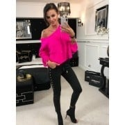 SWETER ARM NEON PINK